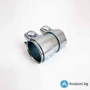 Скоба за ауспух - Муфа Ф60,5, L:80 мм. /Audi, VW/